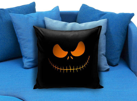 jack skellingtone scary face Nightmare beFore Christmas Pillow case