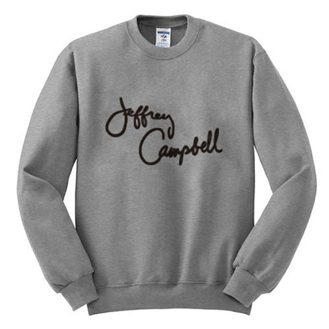 jeffrey campbell sweatshirt grey