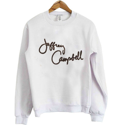 jeffrey campbell sweatshirt white