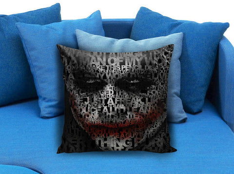 joker quotes Pillow case