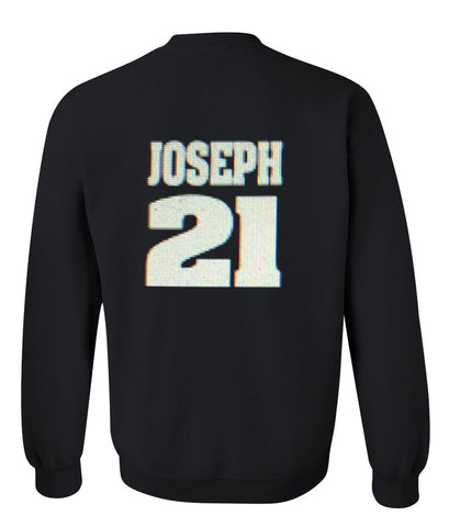joseph 21 sweatshirt back