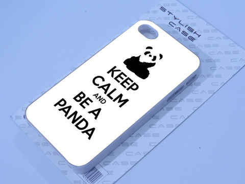 keep calm and panda Phone case iPhone case Samsung Galaxy Case