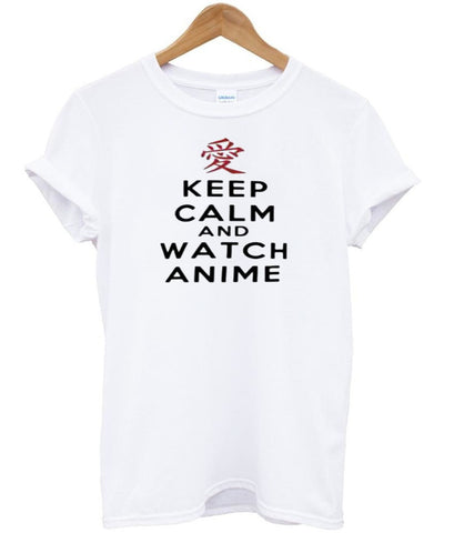 keep calm and watch anime T Shirt