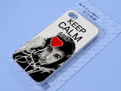 keep calm justin bieber Phone case iPhone case Samsung Galaxy Case