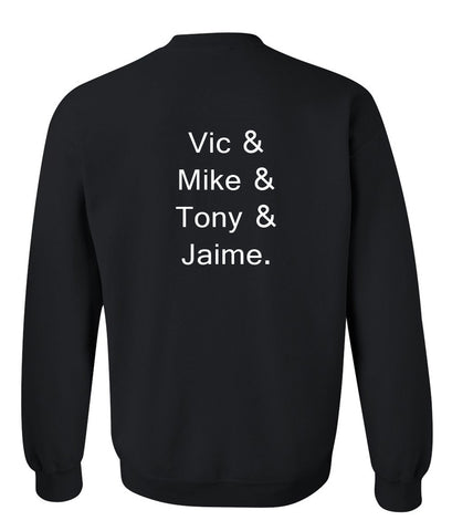 Vice & Mike back Sweatshirt