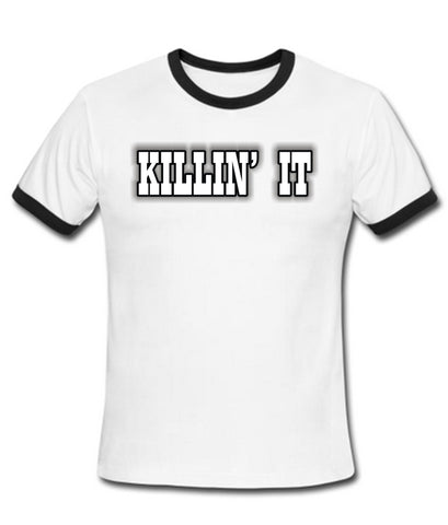 killin'it tshirt ring