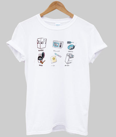 kitchen japanese T shirt