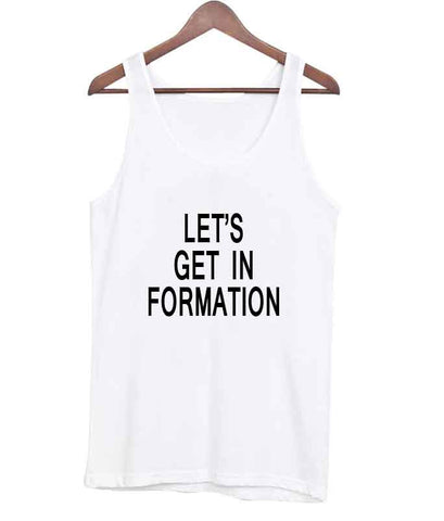 let's get in formation tanktop