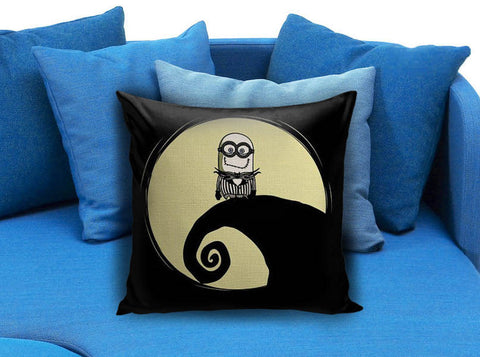 little minion disney nightmare before christmas Pillow case