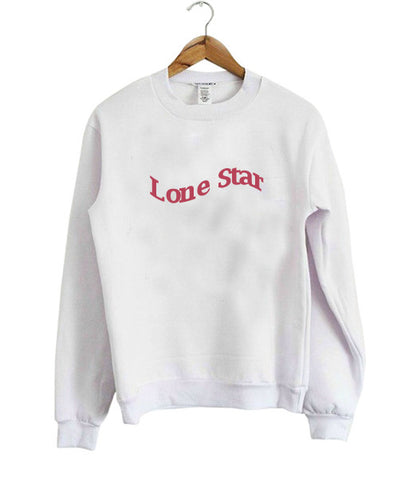 lone star sweatshirt