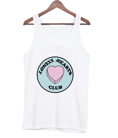 lonely hearts club tanktop