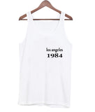 los angeles 1984 tanktop