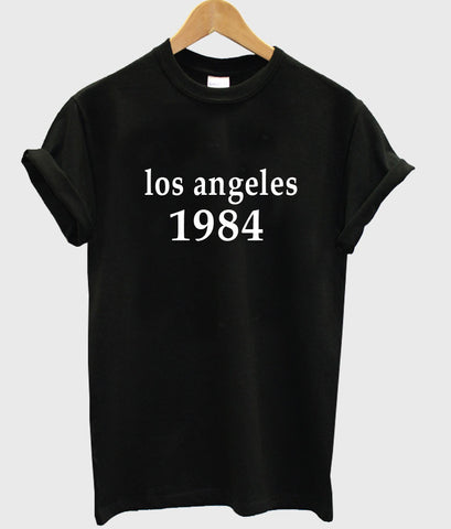 los angeles 1984 T shirt