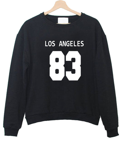 los angeles 83 sweatshirt