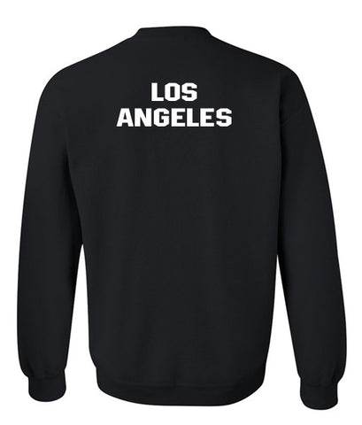 los angeles sweatshirt back
