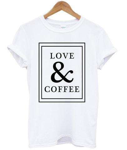 love and coffee t shirt