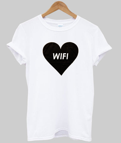– T Shirt Love Wifi Kendrablanca rdCxBoeW