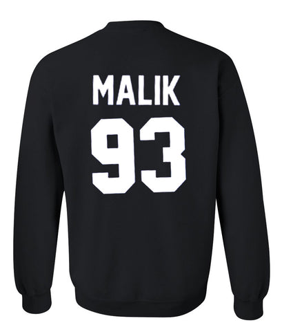 malik 93 sweatshirt back