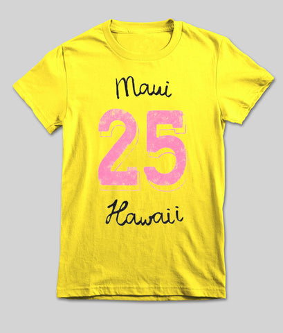 mami 25 hawaii T shirt