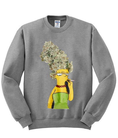 marge simpson sweatshirt