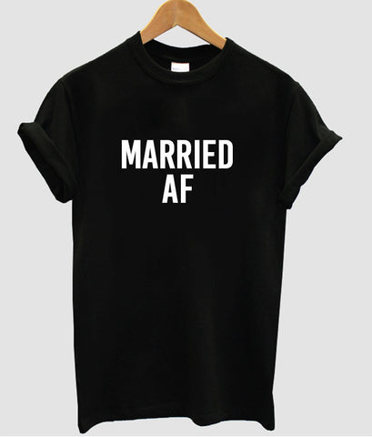 married af tshirt black