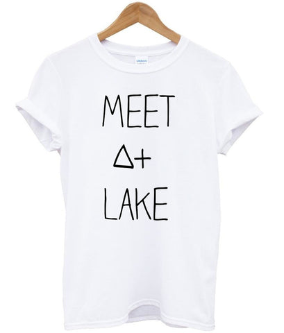 meet at lake tshirt