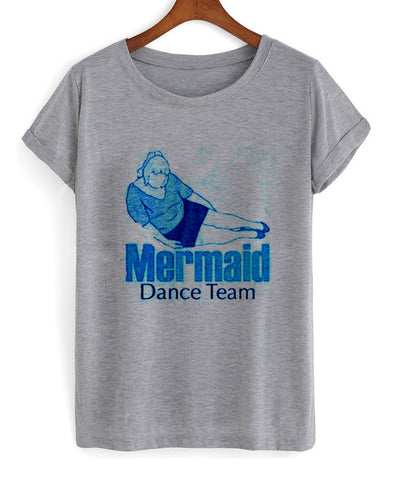 mermaid dance team T shirt