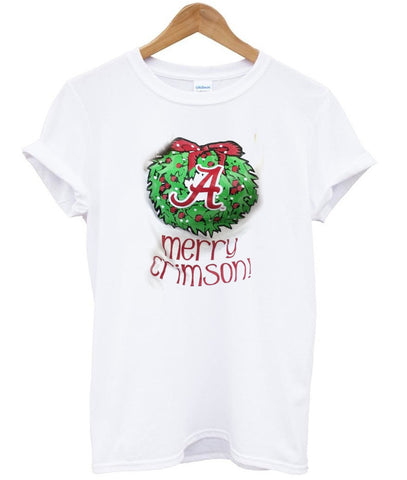 merry crimson shirt T shirt