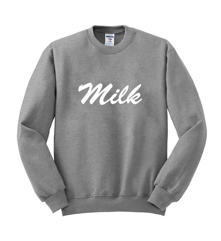 Milk sweatshirt