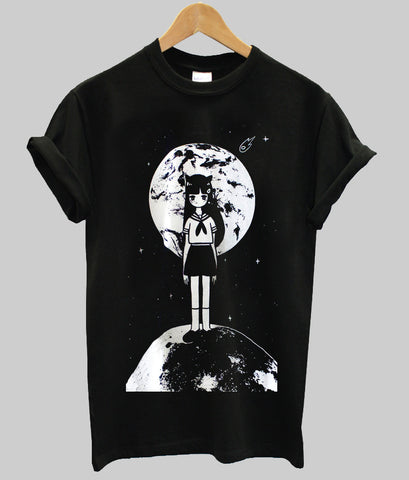 moona anime girl T shirt