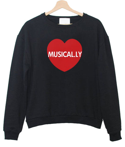 musical.ly Sweatshirt