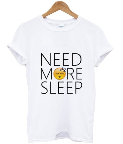 need more sleep emoji tshirt