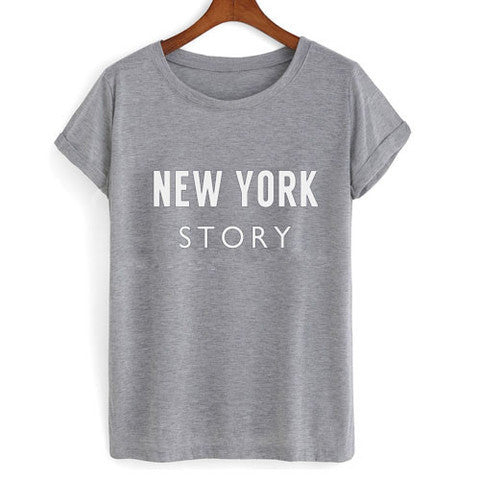 new york story tshirt