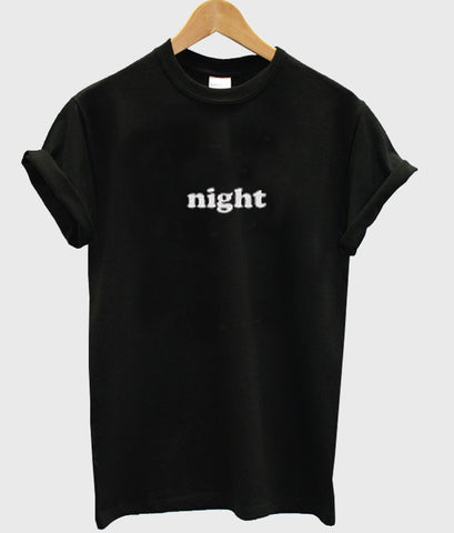 night tshirt