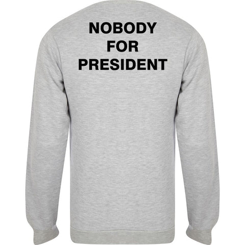 nobody for president switer back