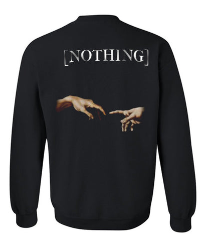 nothing sweatshirt back