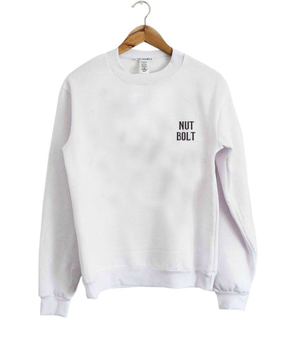 nut bolt sweatshirt