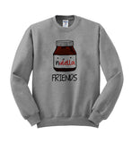 nutella friends sweatshirt