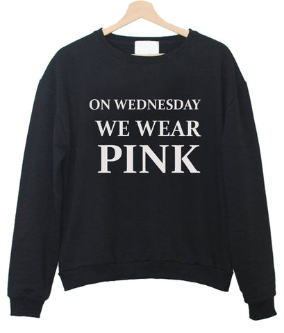 on wednesday sweatshirt