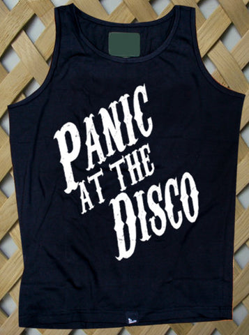 Panic at The Disco Logo Tanktop