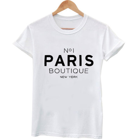 paris boutique T shirt