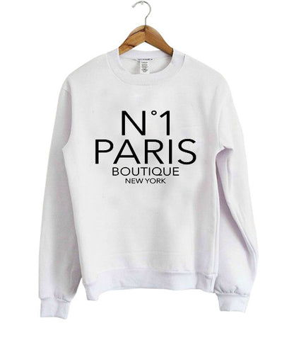paris boutique sweatshirt