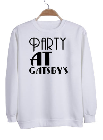 0ce4d656 party at gatsby's sweatshirt – KENDRABLANCA