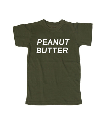 peanut butter  T shirt
