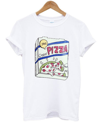 pizza box tshirt