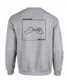 play for keeps sweatshirt back