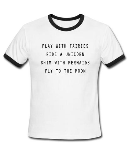 play with fairies T shirt