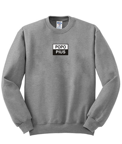 popo plus sweatshirt