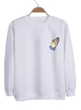 pray emoji sweatshirt