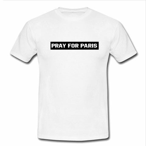 pray for paris tshirt